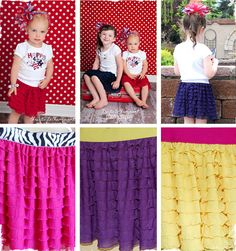 $12 Festive 4th of July Skirts at VeryJane.com