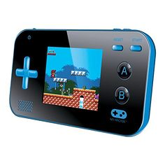 "(My Arcade Gamer V Portable Gaming System - 220 Built-In Retro Style Games and 2.4"" LCD Screen - Blue/Black Review) Buy-Accessories.net"