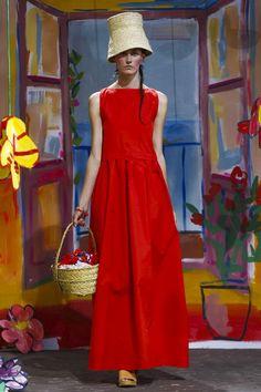 Daniela Gregis Ready To Wear Spring Summer 2017 Milan Mature Fashion, Live Fashion, Modest Fashion, Runway Fashion, Fashion News, Fashion Show, Fashion Design, Dress Shirts For Women, Clothes For Women