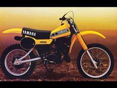 Yamaha Motocross Bikes 1974-2013