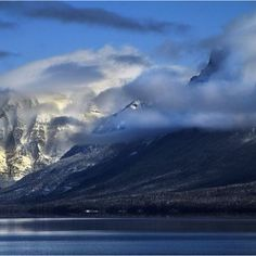 Lake McDonald, Glacier Park, Montana. The Beauty and Grandure of God's creative work!