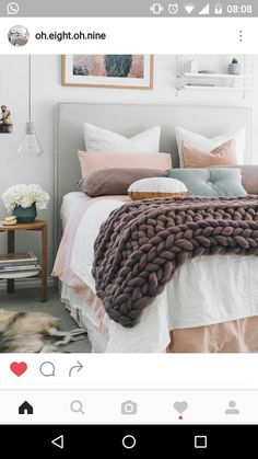 Cute And Girly Pink Bedroom Design For Your Home 44 Dream Bedroom, Home Bedroom, Bedroom Decor, Bedroom Ideas, Bedroom Lighting, Bedroom Wall, Bedroom Designs, Wall Decor, Modern Bedroom