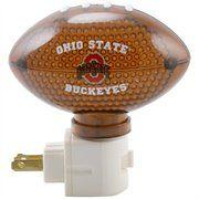 Ohio State Buckeyes 4'' Football Nightlight