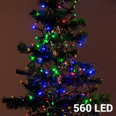Multicoloured Christmas Lights (560 LED)