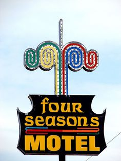 Four Seasons Motel by Lufitoom, via Flickr