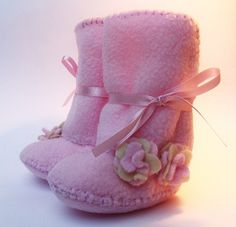 pink baby boots ugg for kids