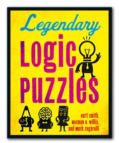 Look at this Legendary Logic Puzzle Paperback on #zulily today!