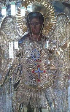 Orthodox Christianity, Archangel Michael, Religious Icons, Orthodox Icons, Russian Art, Byzantine, Holy Spirit, Greece, Religion