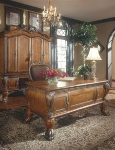 You will find the world's finest Victorian and French-inspired furniture reproductions for your living, dining, bedroom, and more. Home Office Furniture Sets, Home Office Decor, Home Decor, Wooden Furniture, Kids Furniture, Furniture Plans, Luxury Furniture, Vintage Furniture, Glass Top Desk