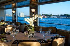 Aqua Azul Yacht & Manhattan Steamboat, Wedding Ceremony & Reception Venue, Wedding Rehearsal Dinner Location, New York - New York, Manhattan, Brooklyn, Bronx, Queens, and surrounding areas