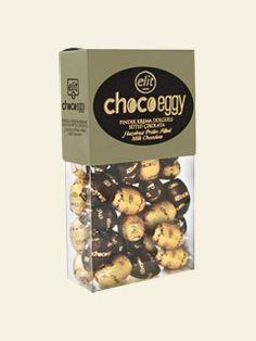 Choco Eggy Fındık Krema Dolgulu Sütlü Çikolata #chocolate #elitcikolata #elit #cikolata