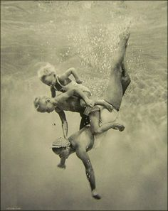 Esther Williams and her children. Via Laundry Line Divine