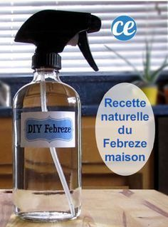 Easy and Economical: The Natural Recipe of Homemade Febreze. Diy Home Cleaning, Homemade Cleaning Products, Cleaning Recipes, Natural Cleaning Products, Cleaning Hacks, Homemade Febreze, Cleaners Homemade, Febreze Spray, Limpieza Natural