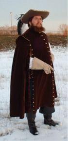 Spanish riding cloak