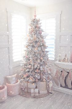 pastel pink christmas girly christmas tree pink christmas tree decorations white xmas tree