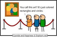 modern art comics - Google Search