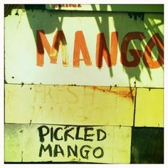Mangos and pickled mango - Yee's Orchard in Kihei Maui