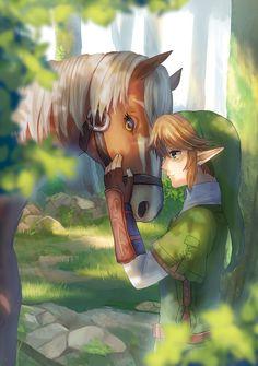 Link & Epona