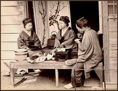 AN AFTERNOON LUNCH in OLD JAPAN by Okinawa Soba on Flickr.