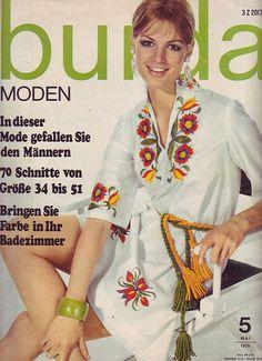 1970 Burda Mode, Lulu Fashion, Online Price, Sari, Ebay, Vintage, Moden, 36, Ephemera