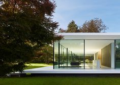 NEW GLASS HOUSE: Haus D10 by Werner Sobek. 5/5/2012 via @Dezeen magazineeen