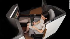 Airline cabins of the future: A new golden age of travel? #Travel #Technology #Futuretech
