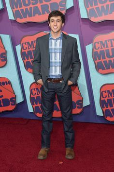 Chase Elliott Photos: Arrivals at the CMT Music Awards