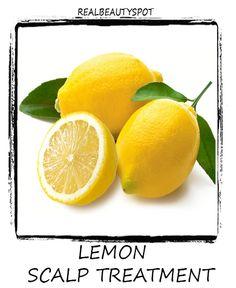lemon scalp treatment