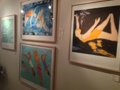 A series of works by Marjorie Price