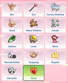 Mod the sims - siren trait cc sims sims 4 traits, sim Sims 4 Mods, Sims 4 Game Mods, Sims Games, Sims 4 Cc Packs, Sims 4 Mm Cc, Sims 1, Sims Traits, Sims 4 Cheats, Pelo Sims