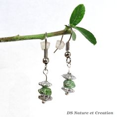 Peridot jewelry silver thin earrings by DSNatureetCreation on Etsy https://www.etsy.com/listing/242935656/peridot-jewelry-silver-thin-earrings