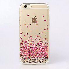 Para Funda iPhone 7 / Funda iPhone 7 Plus / Funda iPhone 6 / Funda iPhone 6 Plus Ultrafina / Transparente / Diseños Funda Cubierta Trasera - EUR € 1.75