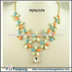 2014 vogue diseño de flores de cristal al por mayor collares de yiwu de china-imagen-Collares -Identificación del producto:300002802139-spanish.alibaba.com