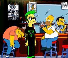 Justin6.7 / Simpsons Original Music, Comic Books, The Originals, Comics, Cover, Art, Art Background, Kunst, Cartoons