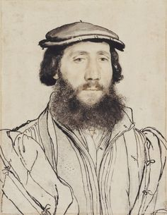An unidentified man by Hans Holbein the Younger