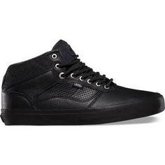 online store c5055 94cf1 Vans OTW Bedford Felt Pack Black Black Leather