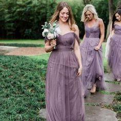 Mismatched Bridesmaid Dresses, Black Bridesmaid Dresses, Wedding Bridesmaids, Bohemian Bridesmaid, Wedding Party Dresses, Bridal Dresses, Bridesmaid Separates, Rose Pastel, Purple Wedding