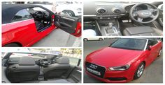 The #Audi_A3_Cabriolet will instantly carry your mood with its prime down driving fun. Add during a turbocharged engine and you will see however that forever shines. #Engine: 1798cc #Fuel: Petrol #Mileage: 16.6kmpl #Transmission: Automatic For More Information: click following link: http://goo.gl/fZIdNW