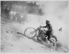 Hill-Climb Action — 1924 by RV Bob on Flickr.