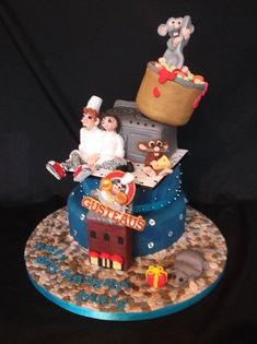Disney Ratatouille cake