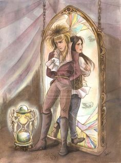 Labyrinth. SOMEBODY mentioned this to me today. She never should have done that.