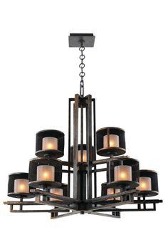 Stanley 9 Light Chandelier by Kalco Lighting - 6717