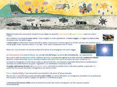 """Deisa, in arte """"La Gallina dalle Uova Colorate"""" ha contribuito con la sua fantasia a dipingere il nostro viaggio."""