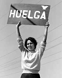 Walk the street with us into history. Get off the sidewalk. - Dolores Huerta