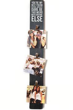 A Playful BFF Photo Board