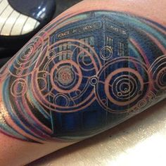 Calling all Whovians! Here are over 60 tattoos that are filled with references and gorgeous art that would please any Time Lord. From gorgeous Tardis art to the Gallifreyan alphabet, these tattoos will inspire any Doctor Who fan to proclaim their love to one of the most iconic science fiction shows...