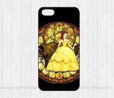 Beauty and The Beast Stained Glass  iPhone 4 case by minicase520, $6.99