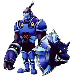 View an image titled 'Defender Art' in our Kingdom Hearts art gallery featuring official character designs, concept art, and promo pictures. Character Concept, Character Art, Concept Art, Character Design, Kingdom Hearts Characters, Kingdom Hearts Fanart, Kingdom Hearts Heartless, Monster Drawing, Kindom Hearts