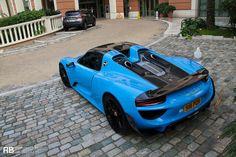 http://chicerman.com  myheartpumpspetrol:  Porsche 918 Spyder |Raphaël Belly  #cars