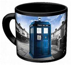 Doctor Who: Disappearing Tardis Mug
